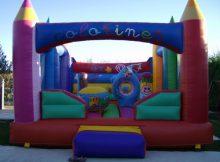 Cumpleaños infantiles con hinchables gigantes