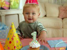 Primer cumpleaños infantiles de bebe