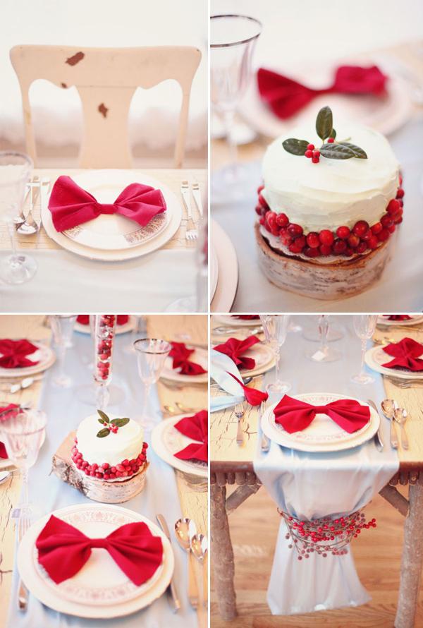 Cumplea os infantiles decorar la mesa de blanco y rojo - Como decorar mesas de navidad ...