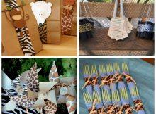 Cumpleaños infantiles, safaris