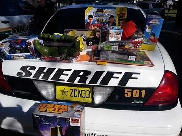 Regalos de cumpleaños del Sheriff
